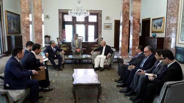 Президент Афганистана призвал бизнесменовРК кболее тесному сотрудничеству