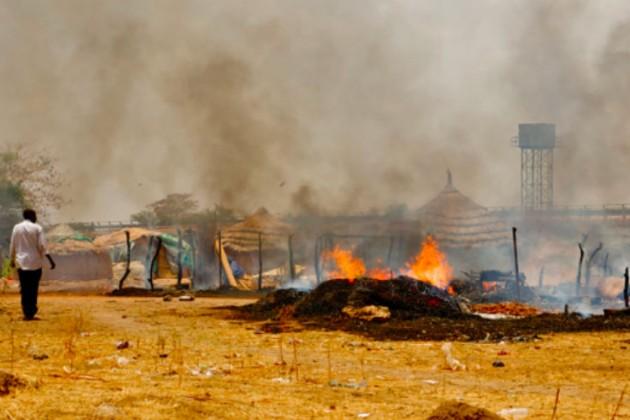 Бензовоз взорвался в Южном Судане