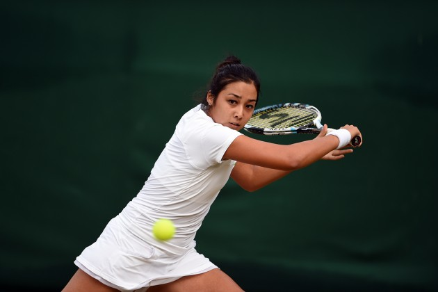 Зарина Дияс уступила Марии Шараповой на Australian Open
