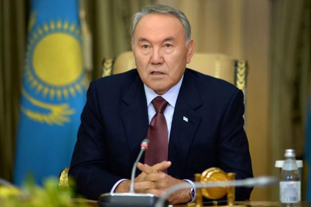 Нурсултан Назарбаев награжден орденом Сергия Радонежского