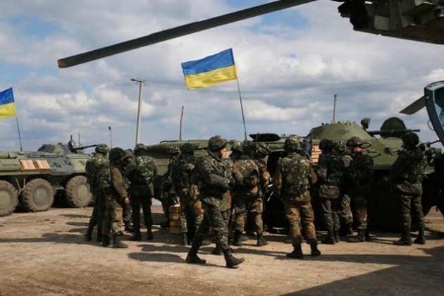 Рада призвала вывести войска с востока Украины