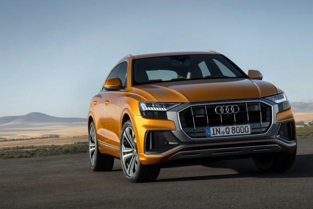 Audi Q8— «жесткие» формы и«мягкие» гибриды