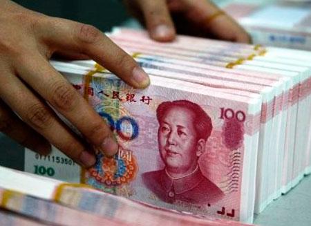 Популярность юаня выросла в 10 раз
