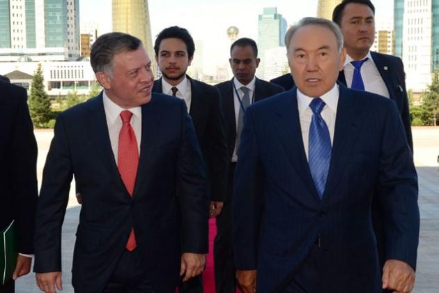 Нурсултан Назарбаев встретился с королем Иордании