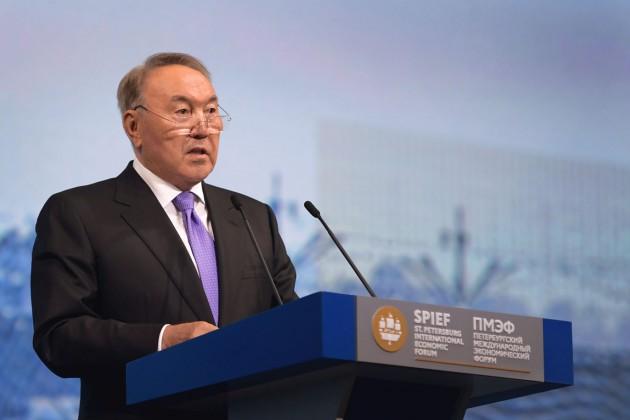 Нурсултан Назарбаев о новой экономической реальности