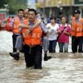 Из-за наводнения на востоке Китая эвакуированы 135 тыс. человек