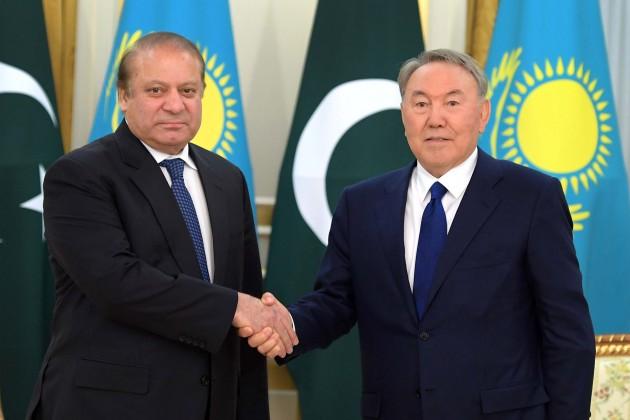 Наваз Шариф: Явосхищен изменениями встолице Казахстана