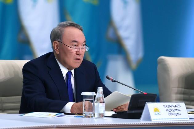 Нурсултан Назарбаев:  Я готовился к этому решению больше трех лет