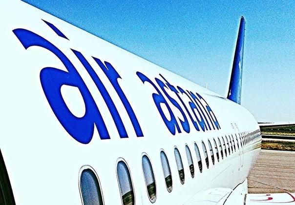 Вылет самолета Air Astana задержали из-за удара молнии