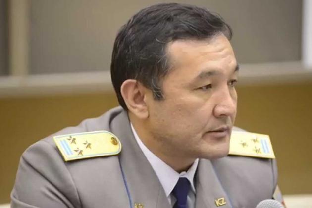 Айдын Аимбетов получил новое воинское звание