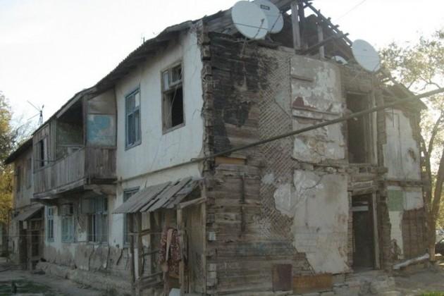 В моногородах РК снесут аварийные дома