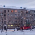 В Петропавловске в пятиэтажном доме взорвался газ