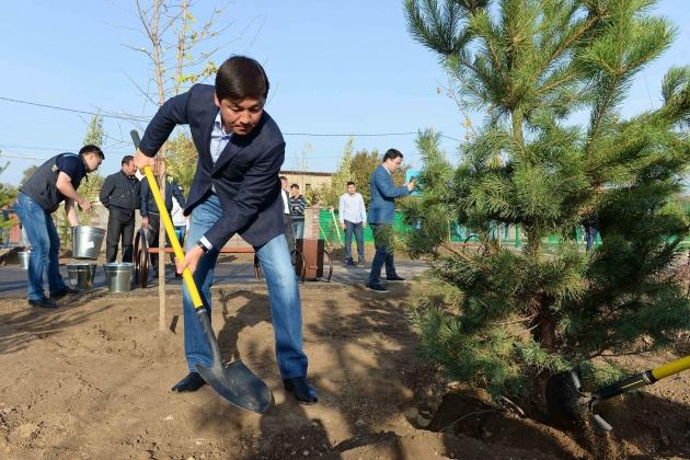 В Алматы пройдет общегородской субботник