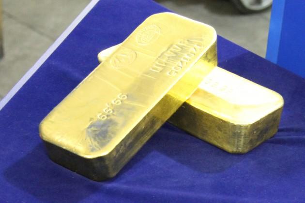 Курсы валют повлияли на стоимость золота