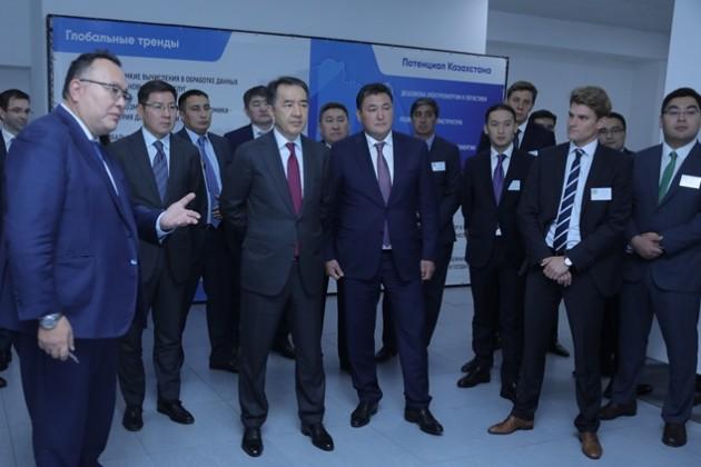 Бакытжан Сагинтаев ознакомился сработой крупнейшего вСНГ дата-центра