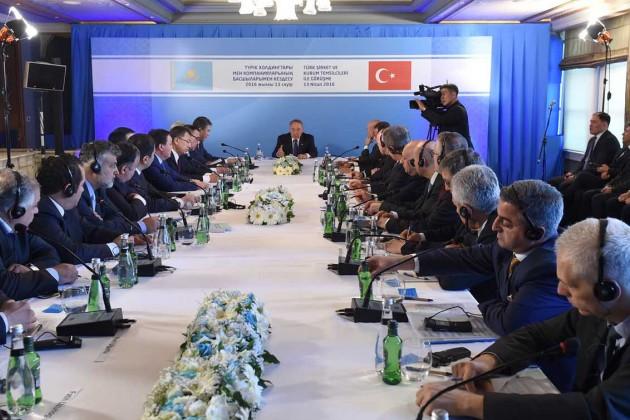 Товарооборот между Турцией и РК должен достигнуть $10 млрд