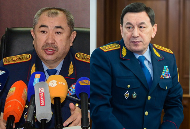 МВД возглавил Ерлан Тургумбаев