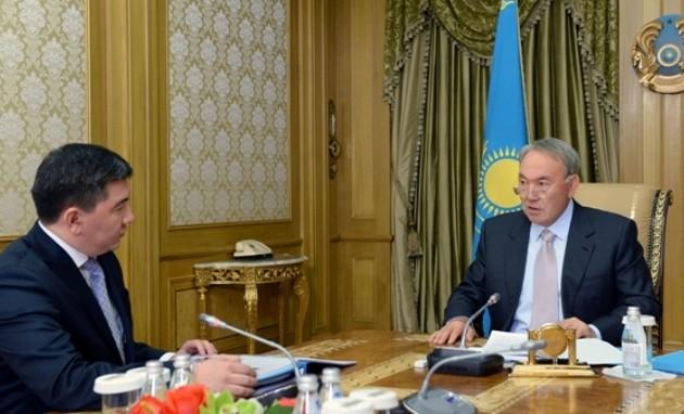 Назарбаев дал ряд поручений министру Саринжипову