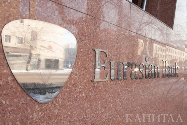 Убыток Евразийского банка за полгода – 6,6 млрд тенге