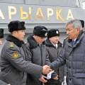 Министр обороны проинспектировал Актауский гарнизон