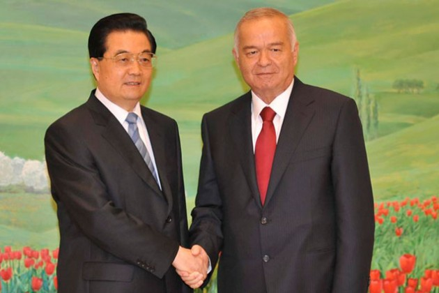Китай занимает в Узбекистане место США