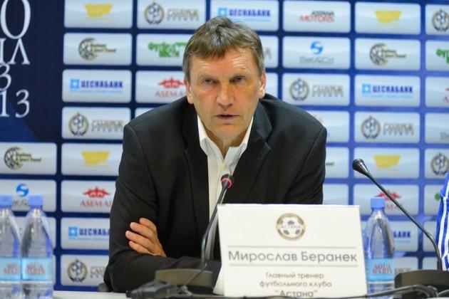 Мирослав Беранек подал заявление о своей отставке