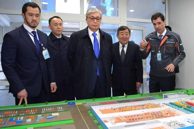Президенту рассказали о перспективах развития СарыаркаАвтоПром