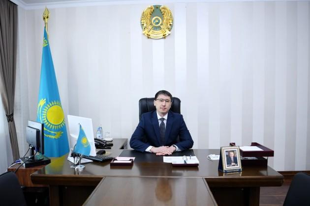 Уакима Южно-Казахстанской области новый заместитель