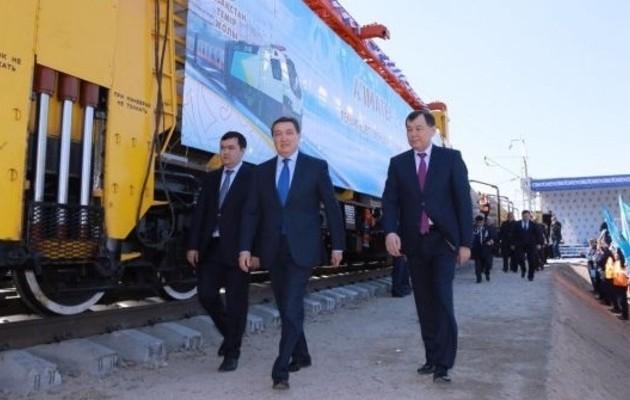 Началось строительство вторых путей дороги Шу – Алматы-1