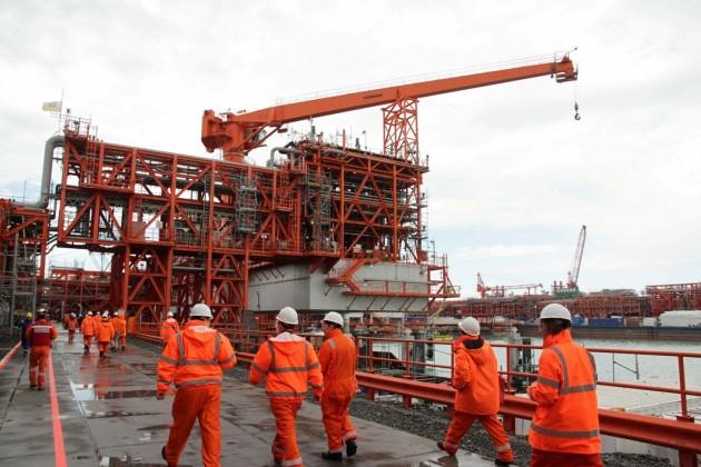 Возобновление добычи нефти на Кашагане ожидают в декабре
