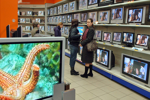 Казахстанцы чаще берут кредит на покупку телевизоров