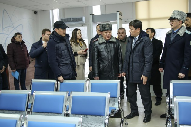 Первые фронт-офисы полиции открывают в Алматы