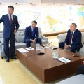 Нурсултан Назарбаев посетил Астанагенплан