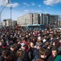 ВМоскве вовремя митинга задержано свыше 1тысячи человек