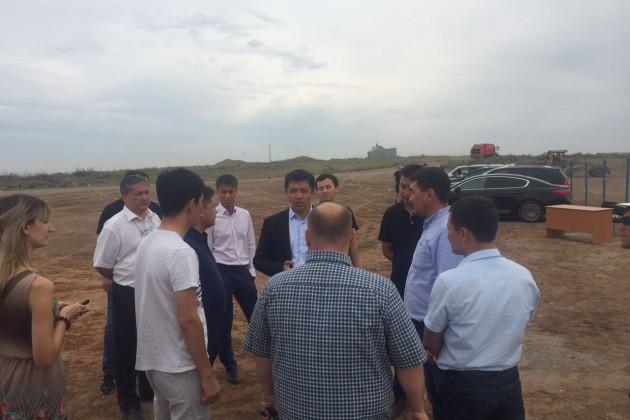 В Актобе началось строительство мусоро-сортировочного комплекса