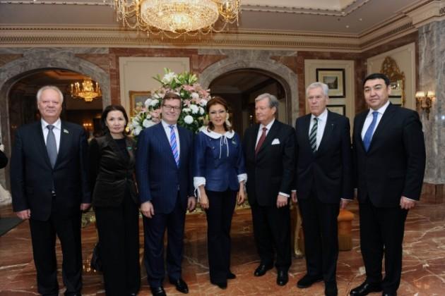 Дарига Назарбаева находится с визитом в Германии