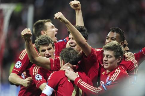Состоялись первые матчи 1/4 финала Лиги чемпионов
