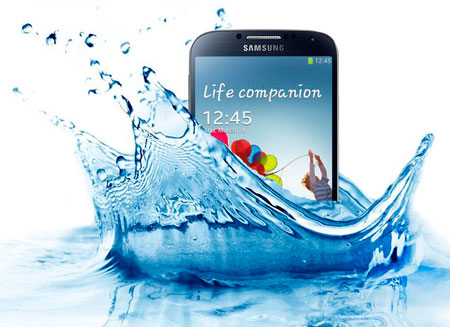 Водостойкий Galaxy выпустит Samsung