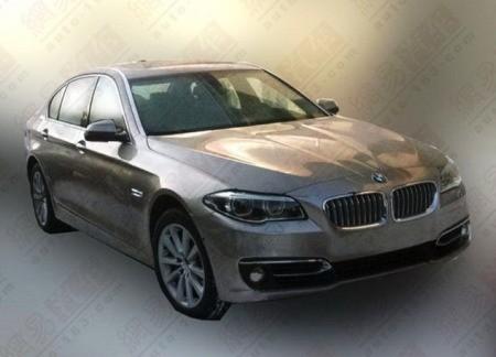 Китайцы рассекретили обновленную BMW 5-Серии