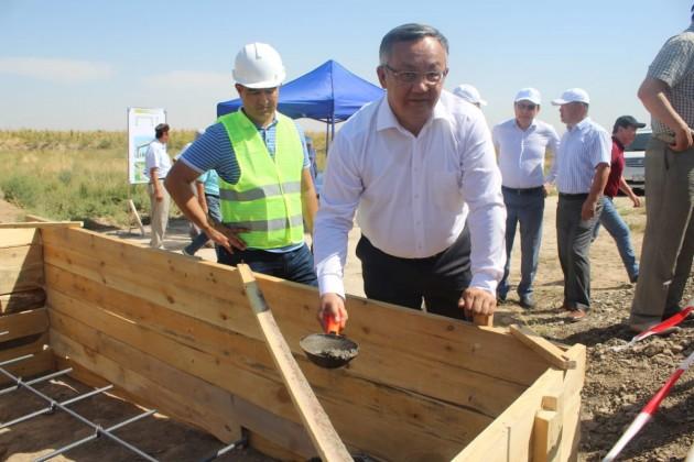 Профсоюзы построят арысцам новые ворота в город