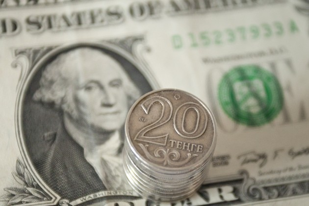 Дневная сессия - 382,87 тенге за 1 доллар