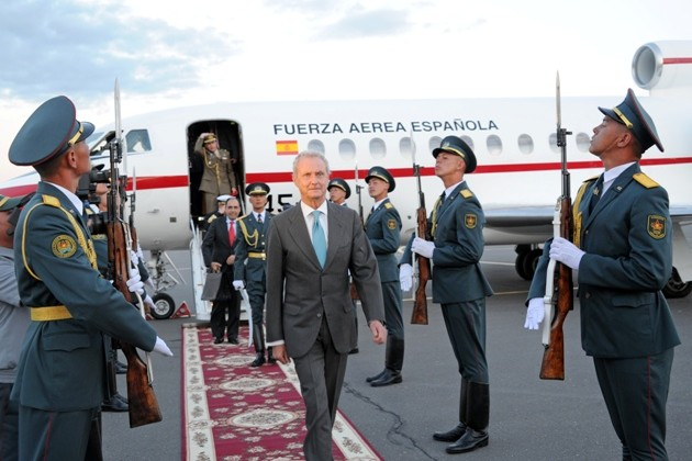 Министр обороны Испании посетил Казахстан