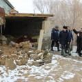 ВАягозе из-за паводков разрушено 8домов