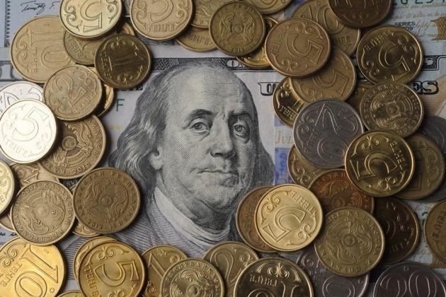 Наутренних торгах доллар вновь подешевел