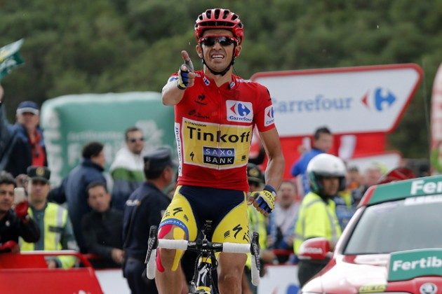 Альберто Контадор победил на 16-м этапе «Вуэльты»
