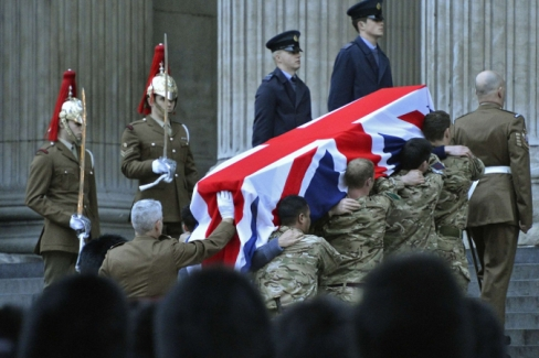 Власти Лондона боятся беспорядков во время похорон Тэтчер