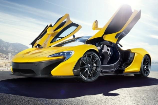 В McLaren откажутся от дворников