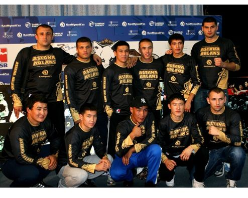 Озвучены составы команд Astana Arlans и Ukraine Otamans