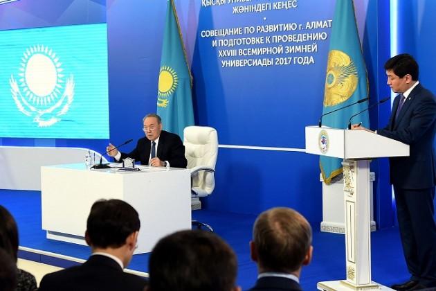 Президент поставил задачи по развитию Алматы