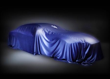 Неизвестный Maserati скрыт покрывалом